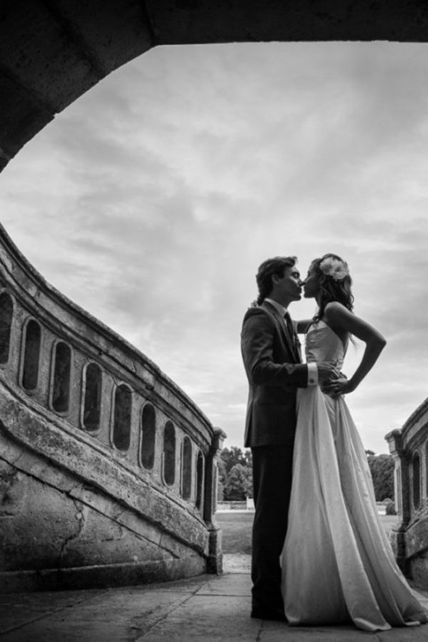 Wedding at the castle of Bourron